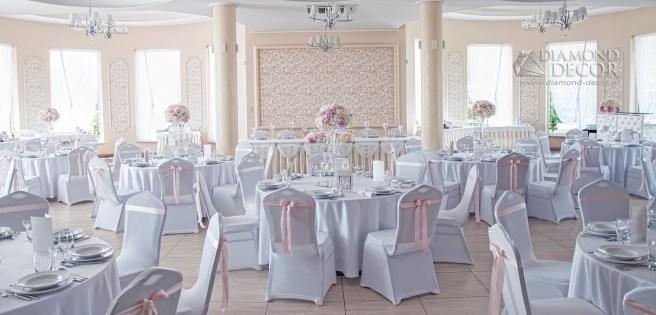 Dekoracja weselna - Leszczynowy Dworek