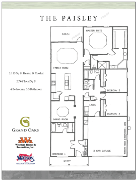 Paisley Floor Plan