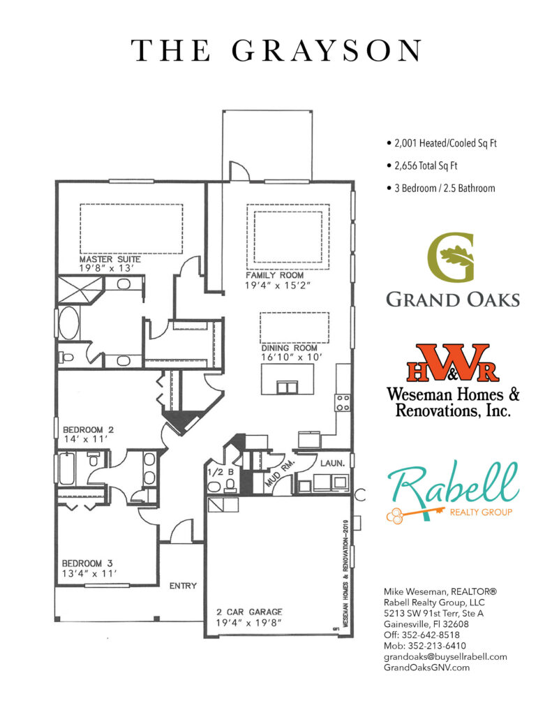Grand Oaks Floor Plans - Grayson