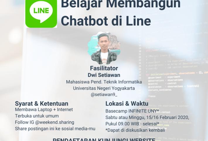 Belajar membangun chatbot di Line