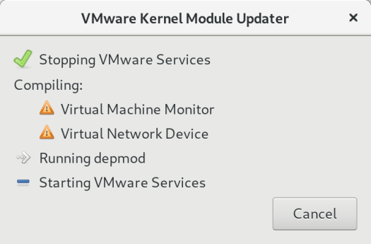 Solved: VMware Workstation 15 Fails to Compile Kernel Modules with