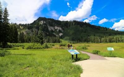 Silver Lake Hike at Solitude Ski Resort
