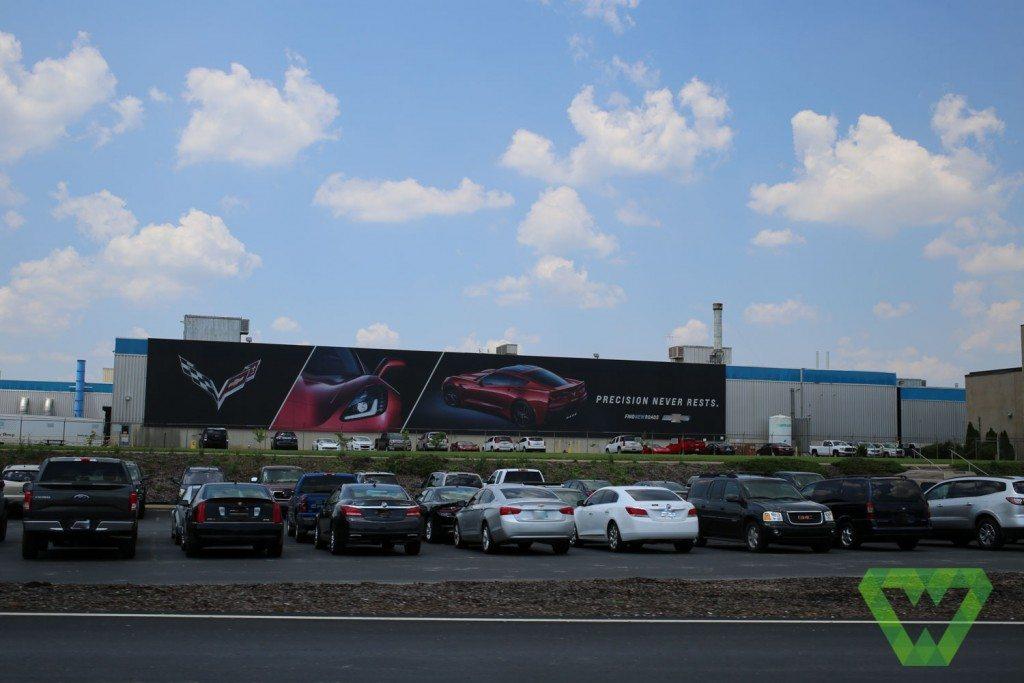 Corvette Factory Tour