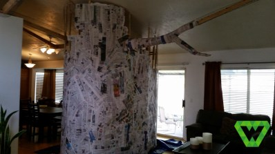 Tree structure and Paper Mache