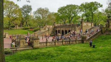Bethesda Fountain in NY Central Park