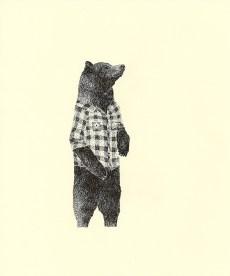 Bear with Plaid