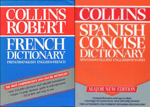 spanish french dictionaries