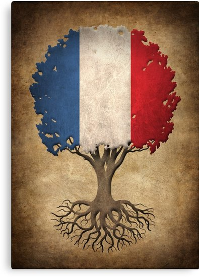 french flag tree of life