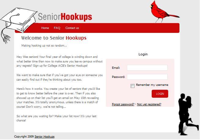 Senior hookups