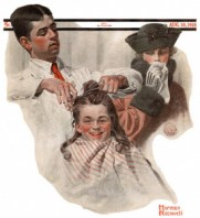 norman rockwell barber