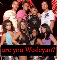 Jersey Shore = Wesleyan