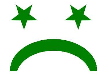 sad star and crescent