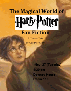 English Majors Talk Series - Harry Potter Fan Fiction