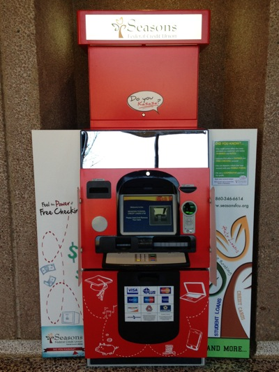 Wesleyan ATM Wrapped