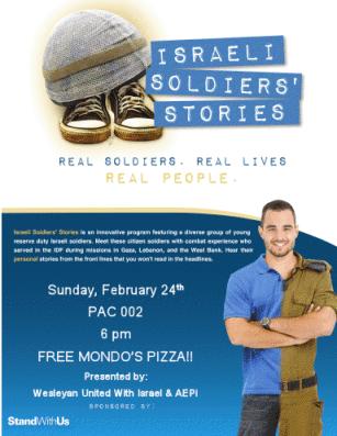 Israeli Soldiers' Stories