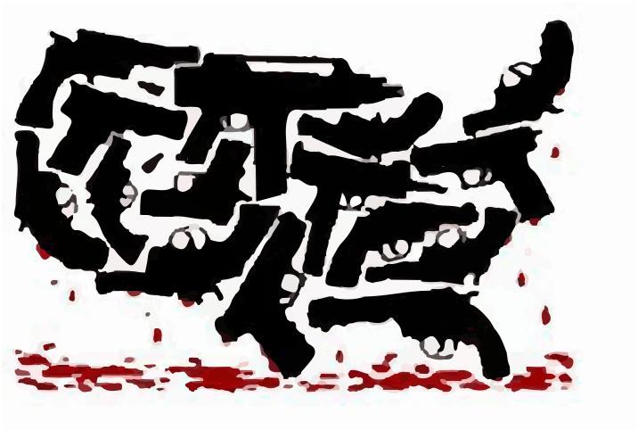 The U.S. likes guns.