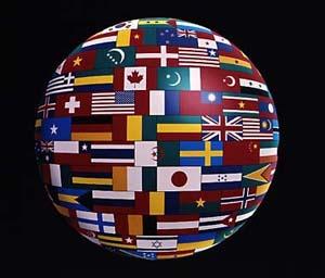 language-globe