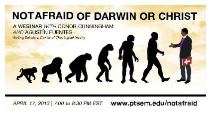 darwin and christ