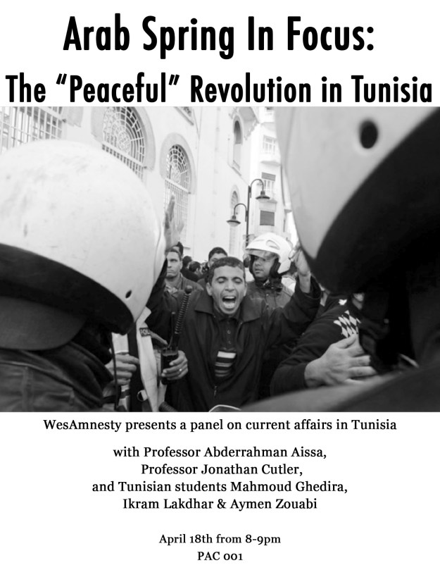 tunisia flyer