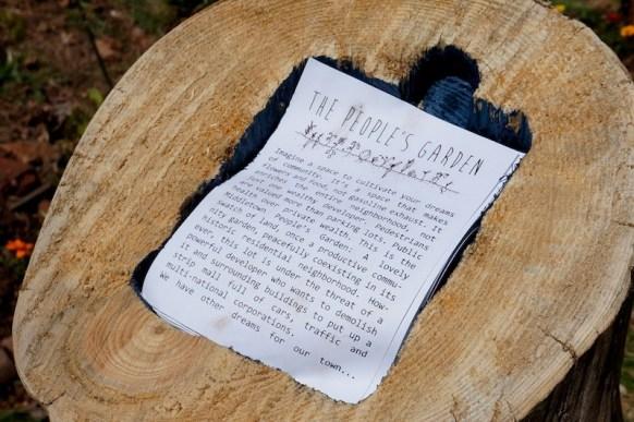 Pamphlet Stump