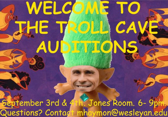 Troll Cave Auditions