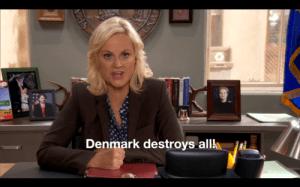 Leslie Knope Denmark