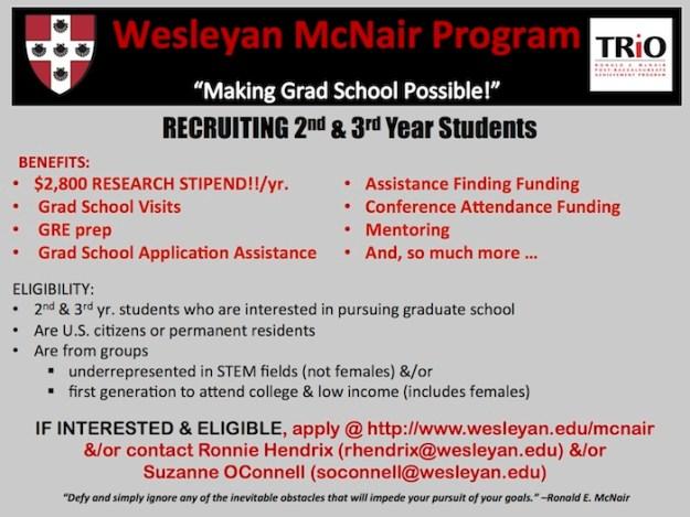 McNair Info Slide