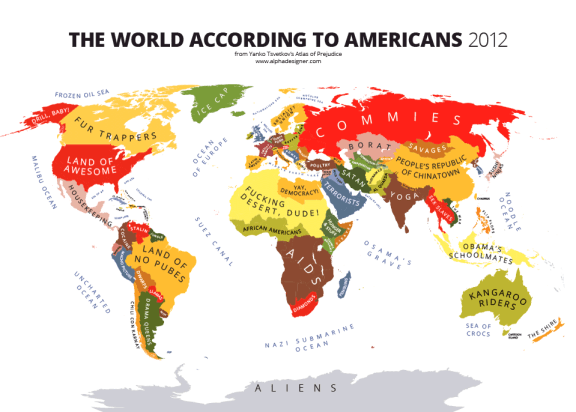 from Yanko Tsvetkov's Atlas of Prejudice