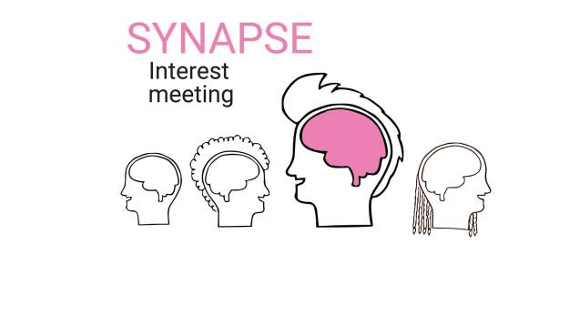 A poster advertising the first Synapse meeting.