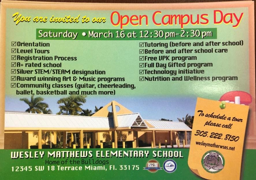 Open Campus Flyer