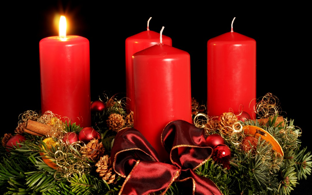 """Advent 1  Mary  declares """" """"May your Word to me be fulfilled."""""""