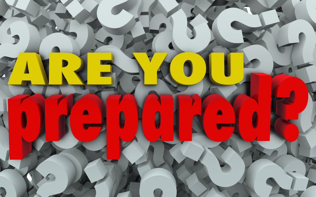 Prepare Or Repair, The Choice Is Yours!