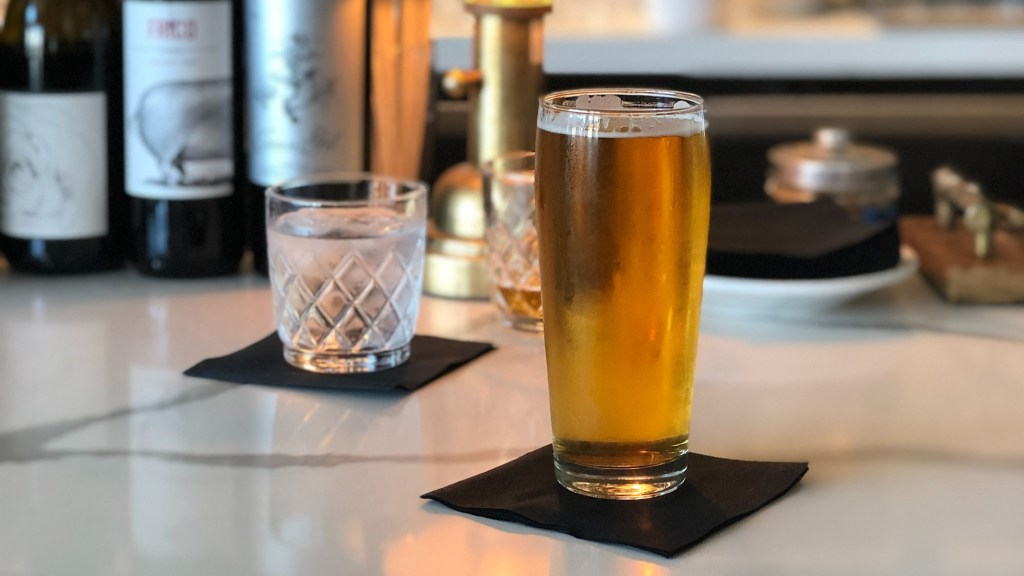 which originated first wine or beer