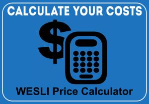 WESLI Cost Calculator