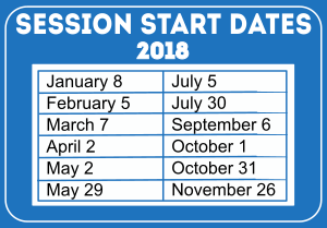 WESLI 2018 Session Dates