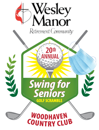 2021 Swing for Seniors Golf scramble by Wesley Manor