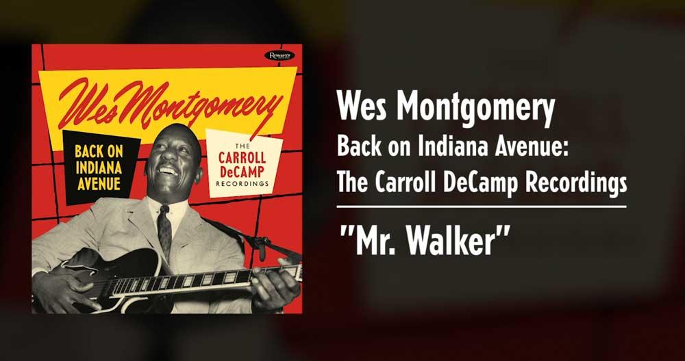 """Beispielsong von """"Back on Indiana Anvenue"""": Mr. Walker"""
