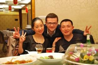 Xiaoni wraz z mężem