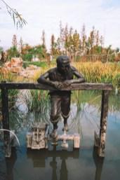 Lishui, park nad jeziorem Ou