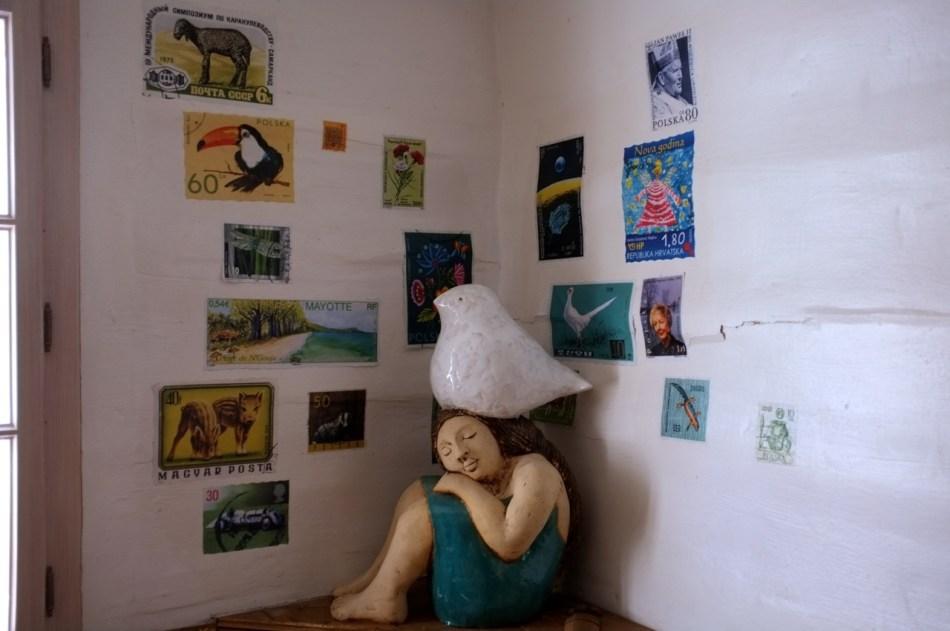 ceramika artystyczna Cafe Arka