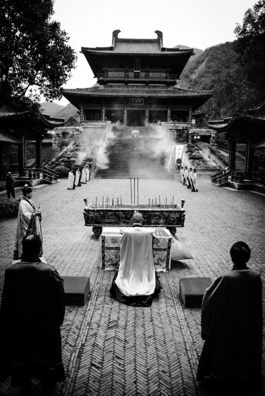 Xiandu, Chiny, ceremonia taoistyczna
