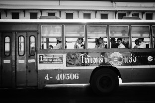 autobus, Bangkok, Tajlandia