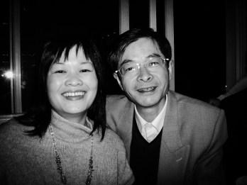 Chen na pierwszej prywatnej imprezie - moje urodziny w 2007 roku