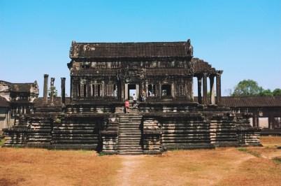 tzw. biblioteka w Angkor Wat