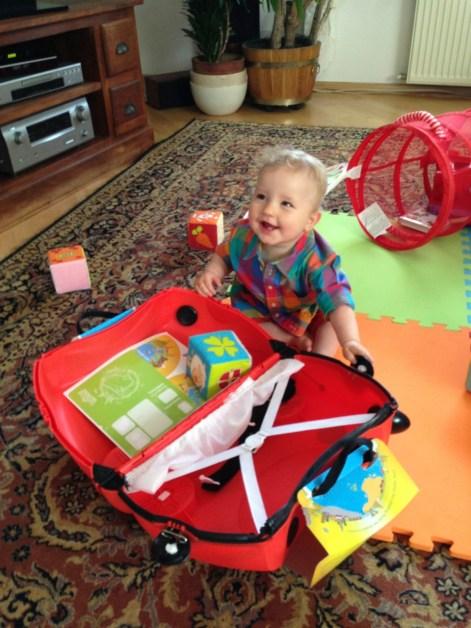 Maks i jego walizka od wujka