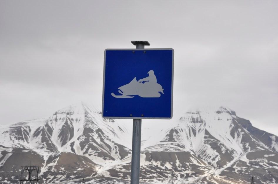 specyficzne znaki drogowe są wszędzie w miasteczku