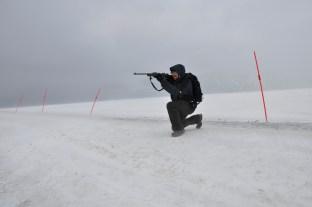 arktyczne zabawy z bronią