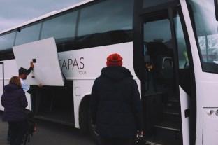 Arctic Tapas odbiera nas spod hotelu