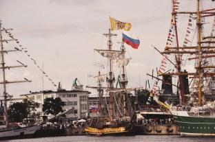 zlot żaglowców w Gdyni
