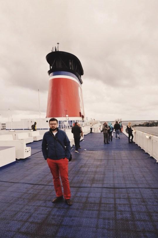 na pokładzie Stena Spirit